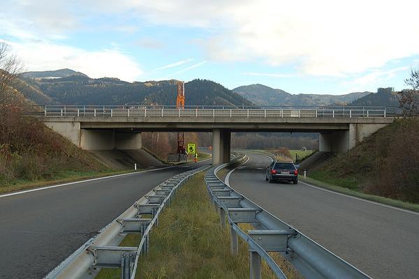 Brückenprüfungen auf der S36