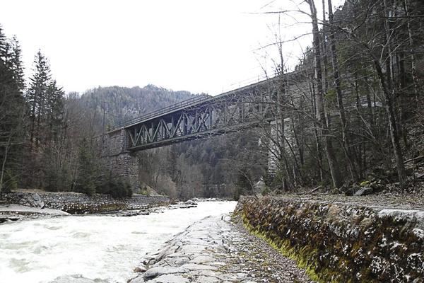 ÖBB-Brücke Gesäuseeingang