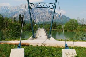 Hängebrücke Urstein