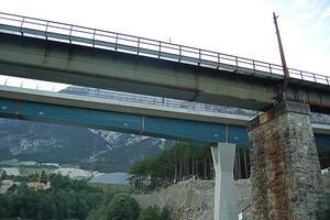 Neubau ÖBB-Brücke