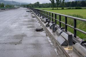Sanierung Baulos Trieben auf der A9