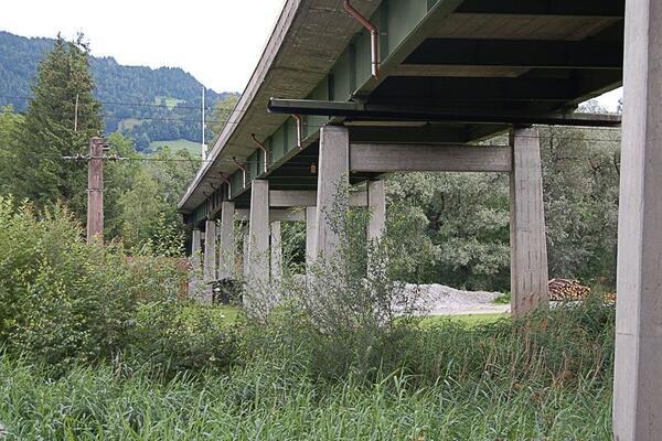 Brückensanierung Ennstalbrücke Aich